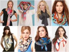 Лучшая видеоинструкция, как завязывать шарфы, палантины и платки!