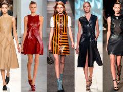 Модные модели и фасоны платьев 2018