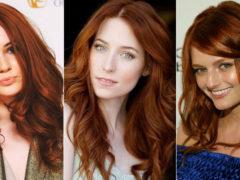 Рыжий цвет волос: модные оттенки 2018